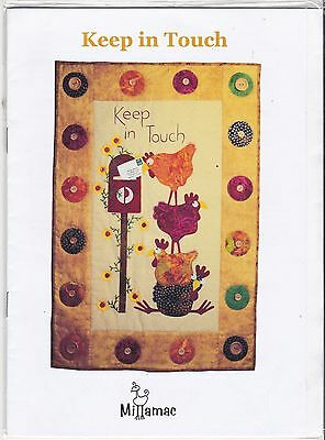 """Patchwork Quilt Kit """"Keep in Touch"""" by Millamac"""