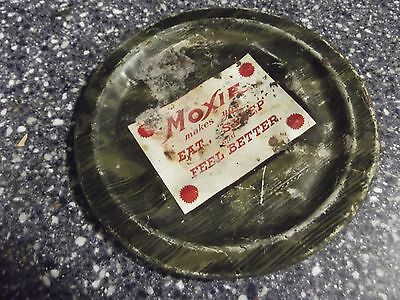 Authentic Moxie Large Advertising Tip Tray