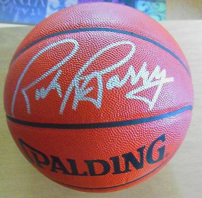 Rick Barry Auto Spalding Official Game Basketball