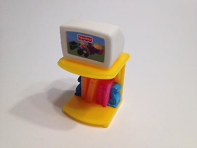 Fisher Price My First Dollhouse Furniture TV Television