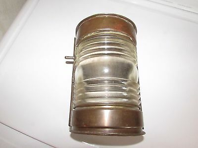 Vintage/antique Nautical Marine Stern Lamp With Ring