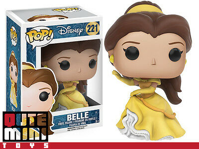 Funko Pop Disney New Princess Beauty And The Beast Belle Figure 11220 - In Stock