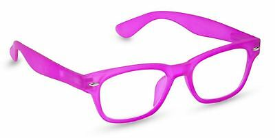 NEW Peepers Reading Glasses Strength +2.25 Style Six Neon Pink - Free Shipping!