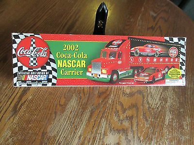 2002 Coca Cola Nascar Carrier Truck With Race Car
