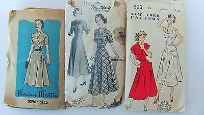 Vintage Lot Sewing Patterns New York Marian Martin