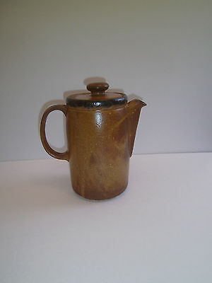 Vintage McCoy Canyon Mesa Stoneware Pitcher with Lid