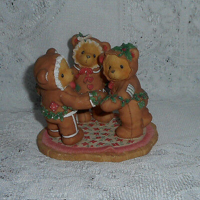 """Cherished Teddies Missy Cookie Riley  """"a Special Recipe For Our Friendship"""" 1998"""