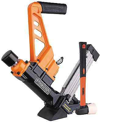 Freeman PDX50C 3-in-1 Flooring Cleat Nailer/Stapler with Fiberglass Mallet