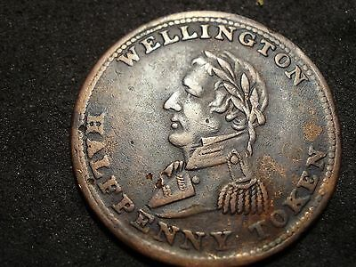 1814 Wellington token-WE8A2-s&h to Canada 1.50