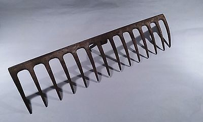 Vintage Garden Rake Head Metal Wine Glass Holder Jewelry Holder Jewelry Display