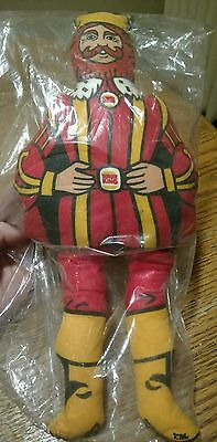 *~*vintage 1970's Burger King Plush King Doll - New In Package*~*