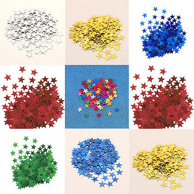 1000X Star Shape Table Confetti Wedding & Party Sprinkle Scatter Decoration DIY