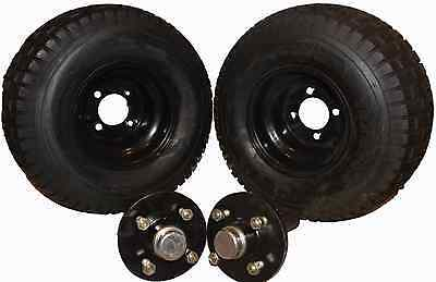 Trailer Stub Axle and Hub and Wheel Kit for ATV Trailer /Sprayer