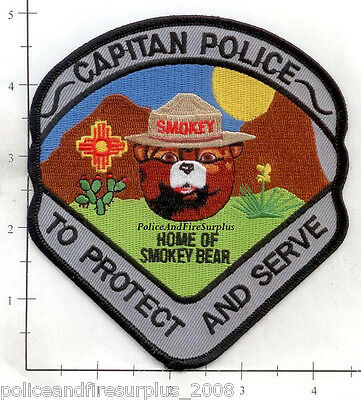 New Mexico - Capitan NM Police Dept Patch