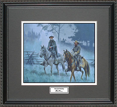 Mort Kunstler STORM OVER GETTYSBURG Framed Print Civil War Wall Art Gift