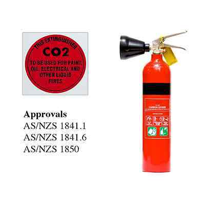 Fire Extinguisher 2kg Co2 Carbon Dioxide Fire Extinguisher - CLEARANCE