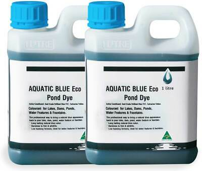 Aquatic Blue Eco Pond Dye 2 litres - Colourant for any body of water