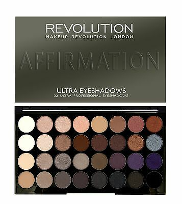 MAKEUP REVOLUTION  32 Shade Eyeshadow Palette Affirmation