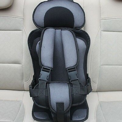 Kids Car Safety Seat Infant Mesh Seat Cushion Pad Adjustable Belt Chair Carrier