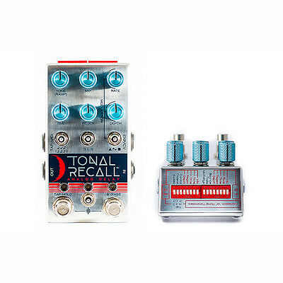 Chase Bliss Audio Tonal Recall Analog Delay Guitar Effects Stompbox Pedal