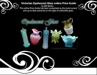 Victorian Opalescent Glass online Book and Price Guide by Bill Banks