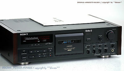 SONY TC-K909ES High-End Cassette Tape Deck ES Top-Zustand! Gewartet+1J.Garantie!