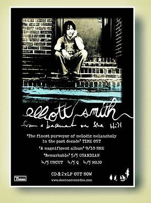 Elliott Smith From a Basment on the Hill Poster