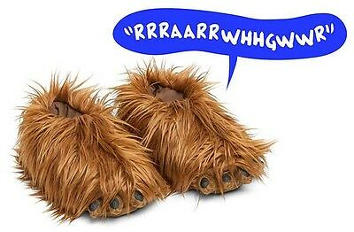 Comfortable Star Wars Chewbacca Slippers With Sound - Warm Indoor Slippers