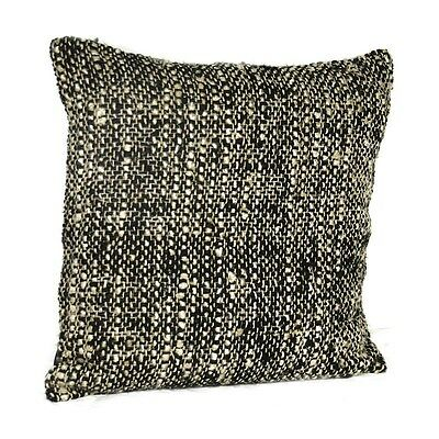 Silkroute PL2795 Chindi Black and White Pillow