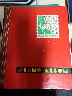 STAMP ALBUM 6 SHEETS OF NEW ZEALAND STAMPS vintage antique collectable