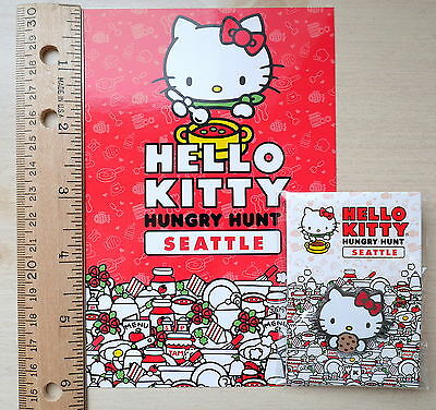 NEW LIMITED Hello Kitty Hungry Hunt Seattle 2016 Robin Chocolate Cookie Pin
