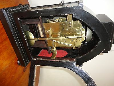 Twin Fusee Bracket Clock - James Murray, Royal Exchange C.1820s (our code 023)