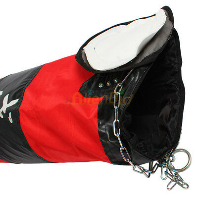 New Durable Exquisite Muay Thai MMA Boxing Heavy Punching Bag 60Lb (Empty)