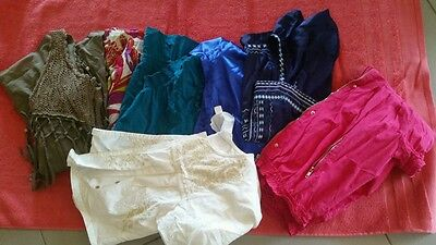 Womens bulk tops. Size 10. Jeans West and more