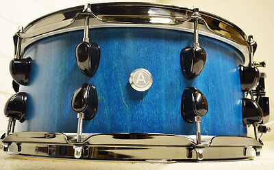 """AC Drums - Hard Rock Maple Stave Snare 14"""" x 6"""" - Custom Drum"""