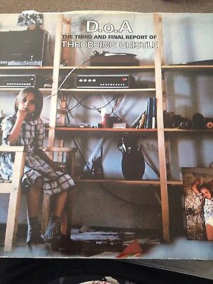 Throbbing Gristle D.O.A The Third and Final Report original vinyl record