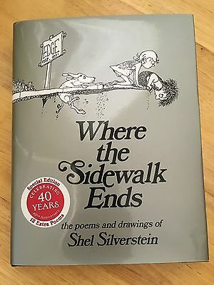 Where the sidewalk ends poems and drawings new free shipping newwhere the sidewalk ends poems and drawings hardcover fandeluxe Choice Image