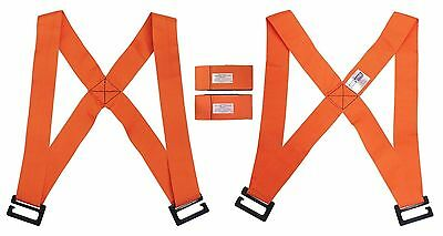 Shoulder Moving Straps 2 Person Heavy Furniture Appliance Harness Lifting Aid