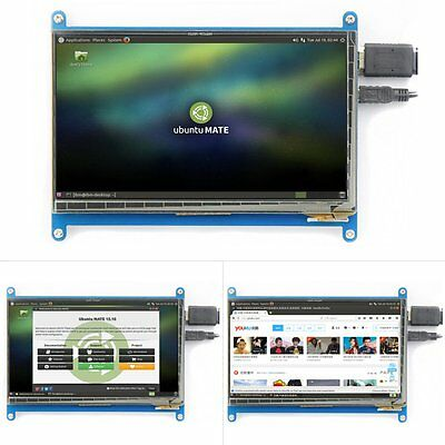 7 inch1024x600 Capacitive Touchscreen HDMI LCD for Raspberry Pi Windows10 TFT UP