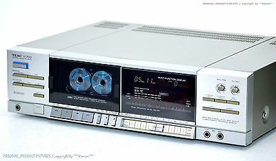 TEAC V-700 High-End High-End Cassette Tape Deck Top-Zust!! Revidiert+1J.Garantie