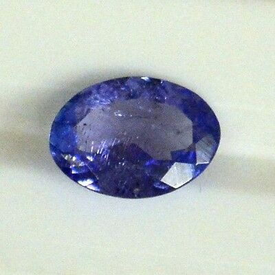 Certified Natural Tanzanite Oval Cut 7*5 mm 0.57 Cts Lustrous Loose Gemstones