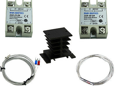 temperature controller Accessories 40 / 25DA SSR k sensor pt100 heat sink probe