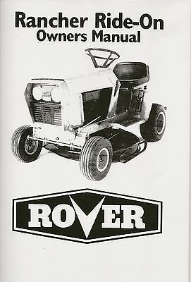 rover quattro 40 mower manual