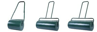 Heavy Duty Grass Lawn Roller Metal Water Sand Filled Gardening Yard Tool