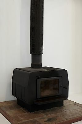 Freestanding Fireplace / Vintage Fire Place