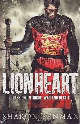 Lionheart BRAND NEW BOOK by Sharon Penman (Paperback 2013)