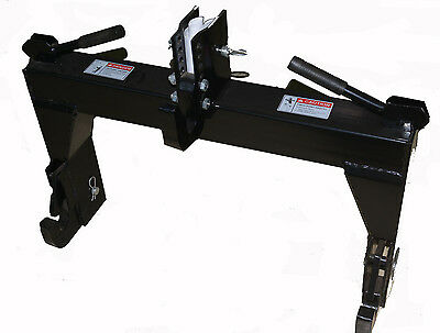 3 point Linkage Quick Hitch Device for standard Tractor with cat 1 linkage