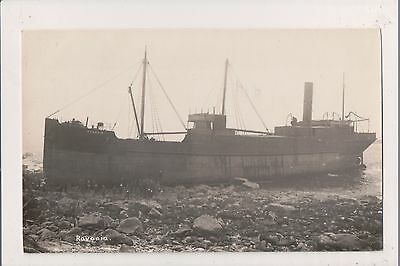 Postcard shipwreck of the RAVONIA