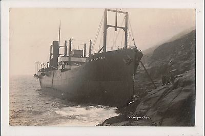 Postcard Shipwreck Of S.s.transpporter