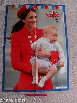 Prince George William & Kate English Royals Australian Magazine Clippings Lot 2